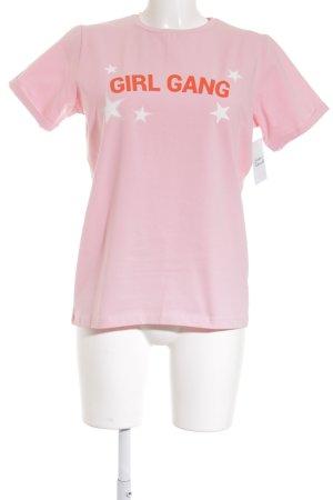 Loavies Oversized Shirt rosa Street-Fashion-Look