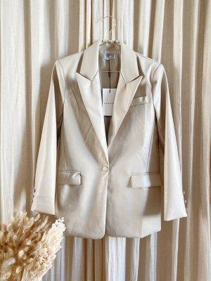 loavies pu blazer beige Creme mit Etikett neu oversized jacke Anzug