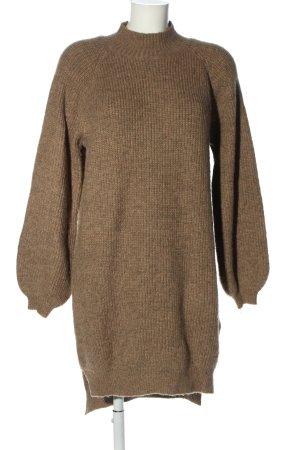 Loavies Pulloverkleid braun meliert Casual-Look