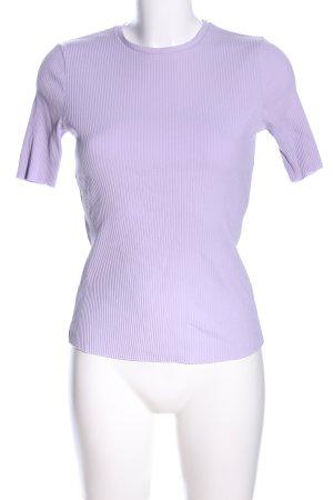 Loavies Ribbed Shirt lilac casual look
