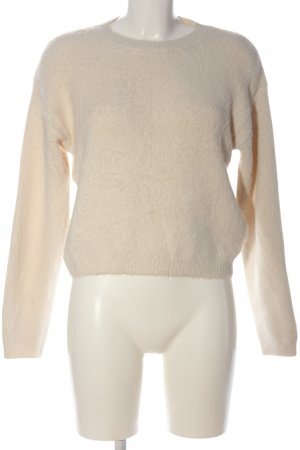 Loavies Strickpullover creme Casual-Look