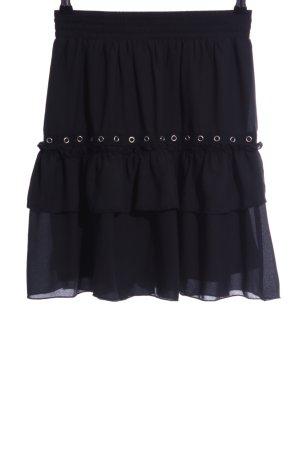 Loavies Broomstick Skirt black casual look