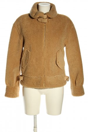 Loavies Teddy Jacket brown polyester
