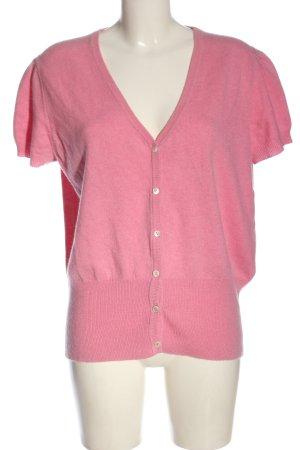 LOCHMERE Sweater met korte mouwen roze casual uitstraling