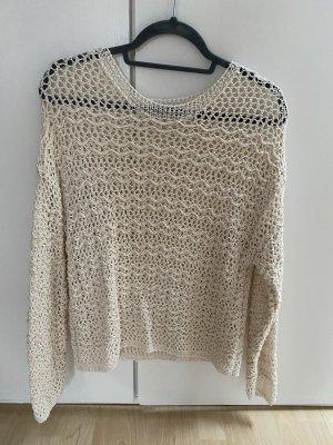 Lochstrick-Pullover - neuwertig