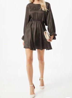 American Vintage Mini Dress dark brown viscose