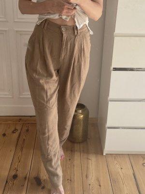 ASOS DESIGN Linen Pants light brown
