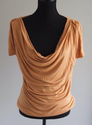 Just Female Waterval shirt licht Oranje-oranje Viscose