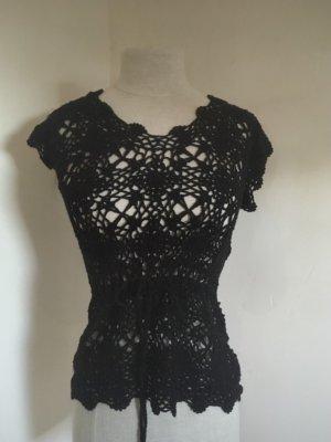 Esprit Siateczkowa koszulka czarny