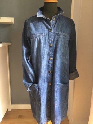 edc by Esprit Robe en jean bleu coton