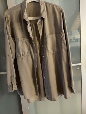 Lockere Beige Hemd | Bluse