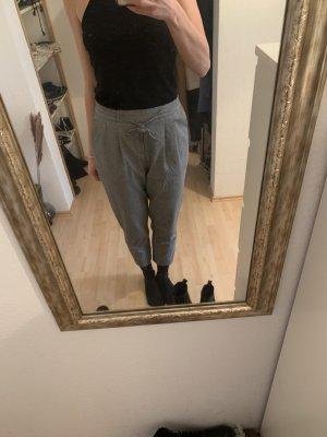 Ichi Pleated Trousers white-black