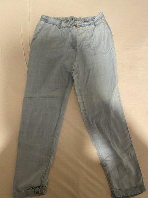 Colloseum Pantalone di lino azzurro