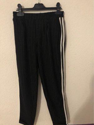Tally Weijl Pantalone peg-top bianco-nero