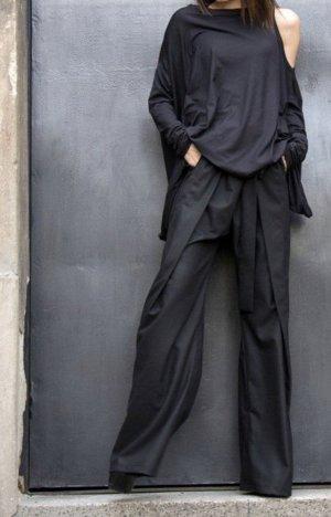 Lockere Hose von aakasha in M schwarz