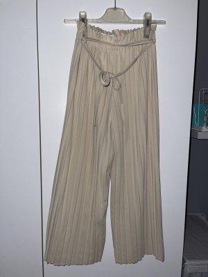 FRESHLIONS Pantalón de campana beige claro