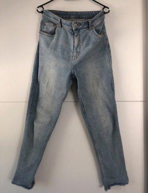 Cheap Monday Jeans boyfriend bleu azur