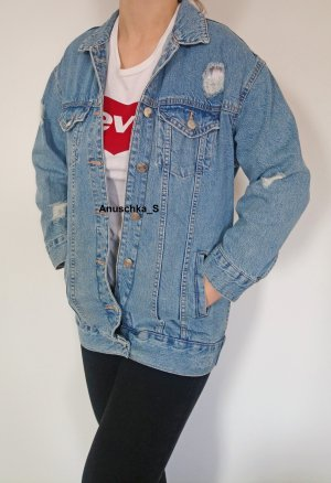 Gina Tricot Oversized Jacket multicolored cotton