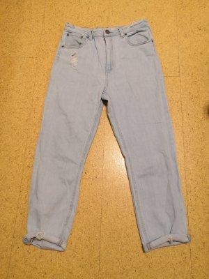 Asos Denim Jeans boyfriend bleu clair