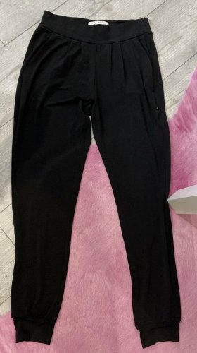 Monari pantalón de cintura baja negro