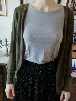 Colors of the world Cardigan olive green-green grey