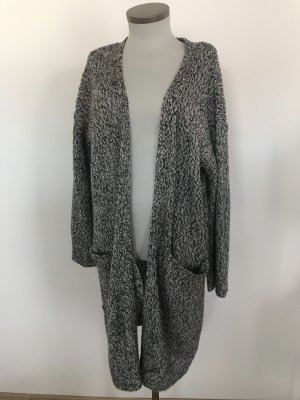 H&M Coarse Knitted Jacket dark grey