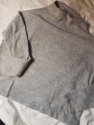 Vila Jersey de cuello alto gris claro