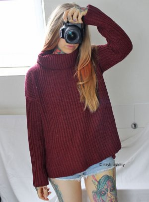 Zalando Turtleneck Sweater multicolored