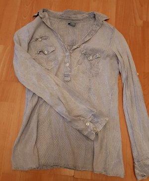 Lockeres Baumwoll Hemd in Jeans Optik von TRF