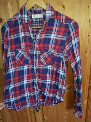 Lockeres Baumwoll Karo Hemd (Größe XS/S)