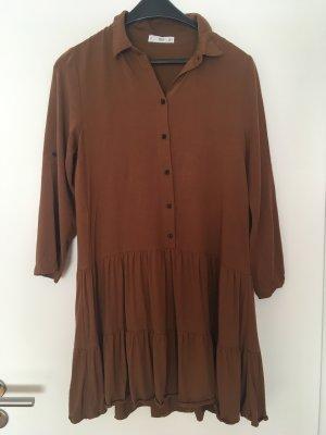 Lockeres braunes Kleid