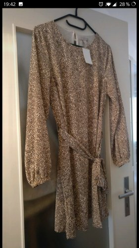 Lockeres chices Kleid, Neu, Animal-Print, Leo-Print, Party, Cocktail, Gr. 40, H&M