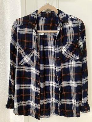 lockeres Hemd mit Karo-Muster