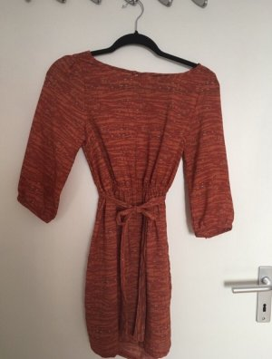 H&M Flounce Dress orange