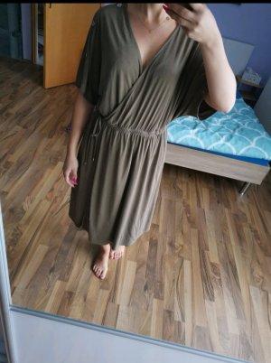 Esprit Sukienka tunika zielono-szary-oliwkowy