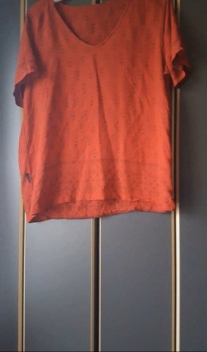 C&A Koszulka typu batik głęboka czerwień