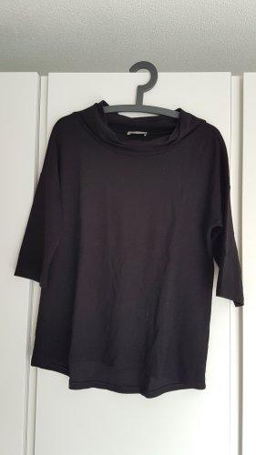 Lockeres Shirt mit Schildkrötkragen und 3/4 Ärmeln