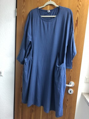 / Robe ballon bleuet-bleu azur
