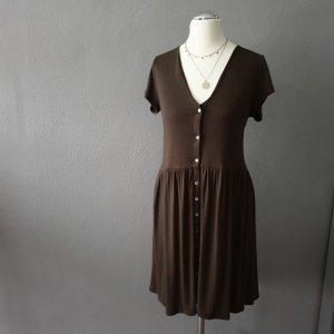 H&M Sukienka z falbanami Wielokolorowy