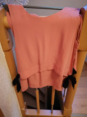 Esprit Top con balze color oro rosa