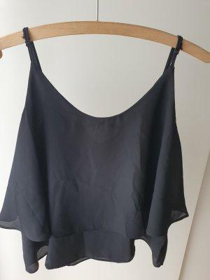 Colloseum Cowl-Neck Top black