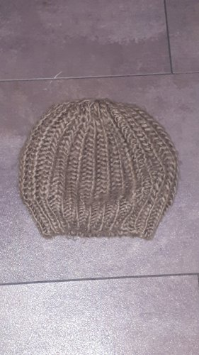 Pimkie Knitted Hat grey brown