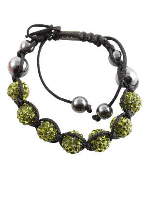 Loculi Armband grün-schwarz Elegant