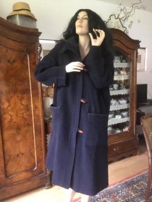 Loden Mantel mit Kapuze 44