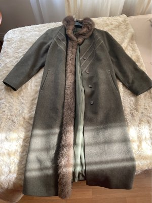 Lodenfrey Cappotto in lana cachi