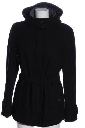 Lodenfrey Cappotto corto nero stile casual