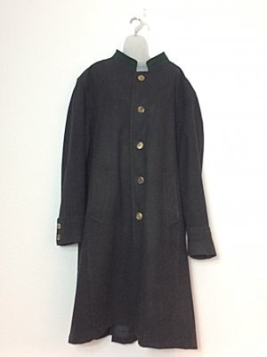 Lodenfrey Oversized Coat black new wool