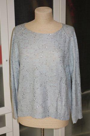 Lodenfrey Maglione lavorato a maglia celeste