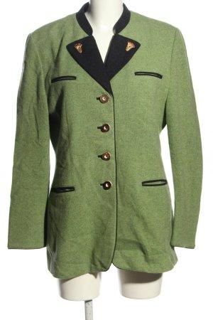 Lodenfrey Traditional Jacket green-black flecked casual look