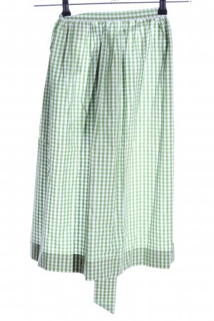 Lodenfrey Traditional Apron green-white check pattern vintage look